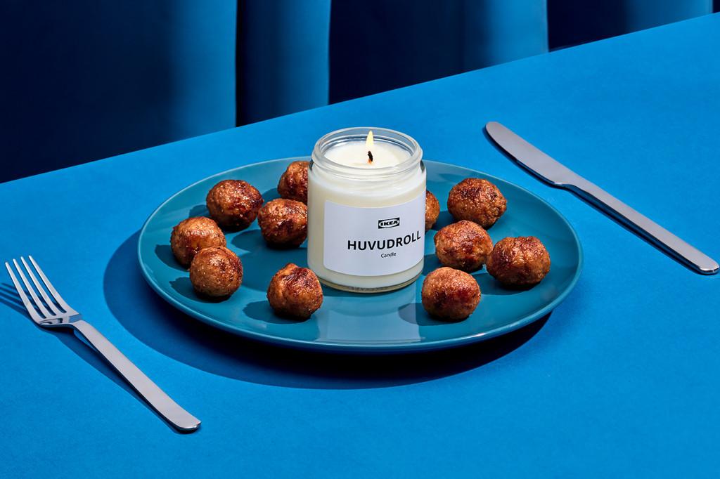 Ikea świeczka o zapach klopsików