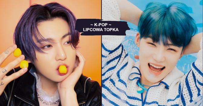K-pop: sprawdźcie, czego słuchaliśmy w lipcu 2021
