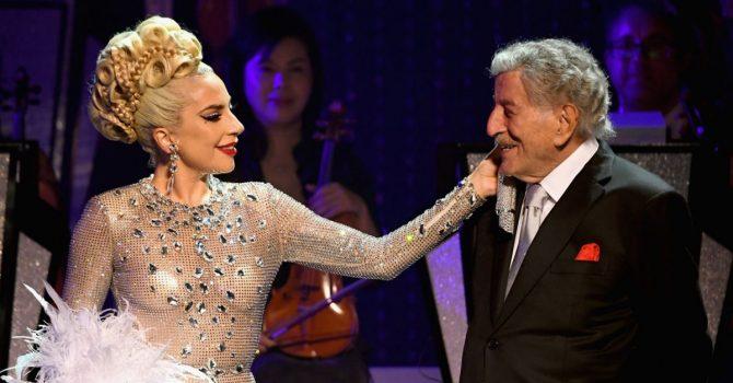 Lady Gaga i Tony Bennett świętują premierę płyty w Warszawie