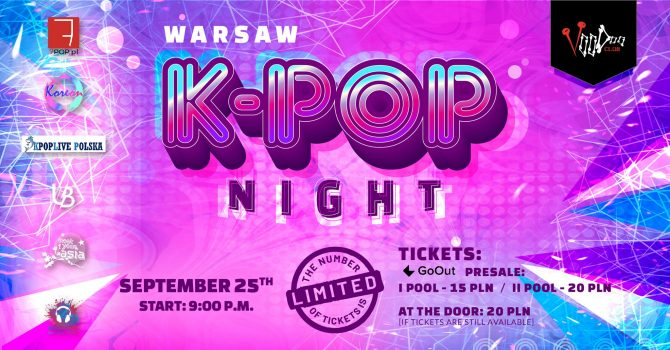 Warsaw K-POP night at VooDoo Club / 25.09 /