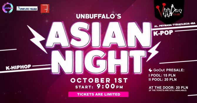 Asian Night by UNBUFFALO / K-POP K-HIPHOP / VooDoo Club / 01.10 /