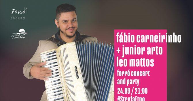 StrefaEtno / forró party w/ Fábio Carneirinho