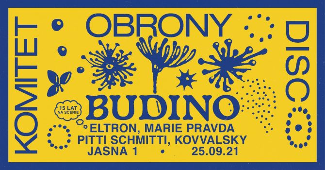 J1 | Komitet Obrony Disco w/ Budino, Eltron & Marie Pravda