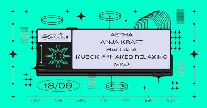 SZ1: Aetha / Anja Kraft / Kubok B2B naked relaxing / MKO // Hallala