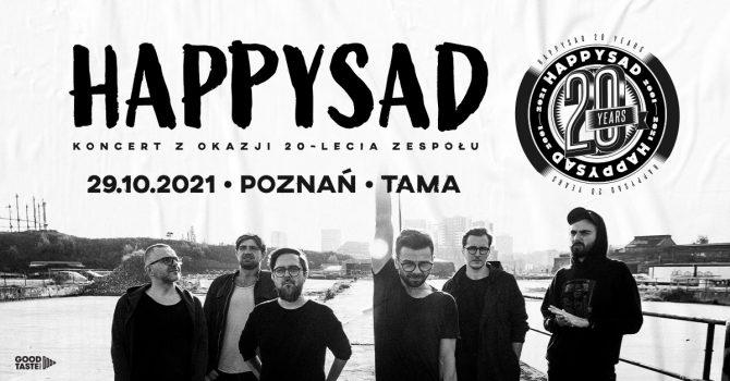 happysad - koncert z okazji XX-lecia zespołu / Poznań / 29.10.2021