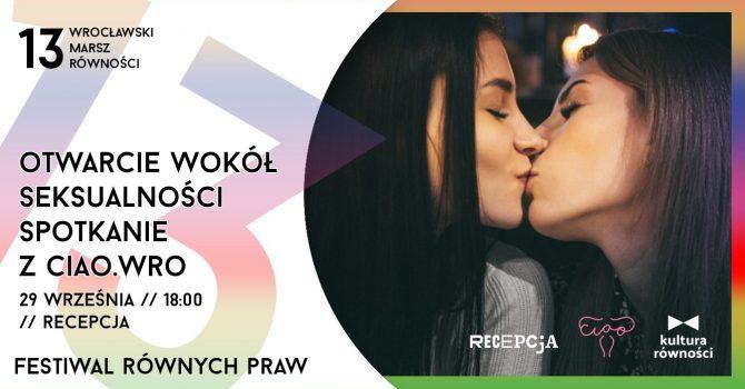 Otwarcie wokół seksualności - spotkanie z Ciao.wro | Festiwal Równych Praw 2021