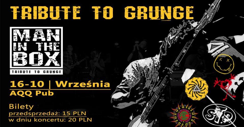 Man in the Box - Tribute to grunge WRZEŚNIA