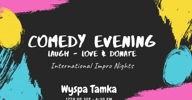 Laugh, Love & Donate - Comedy Improv Night for Charity