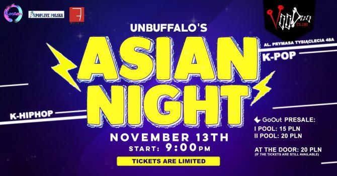 Asian Night by UNBUFFALO / K-POP K-HIPHOP / VooDoo Club / 13.11 / Pepero Day Edition