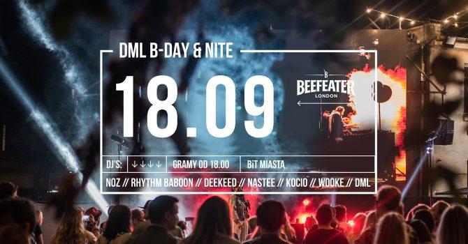 BIT MIASTA #3 // DML B-DAY & NITE