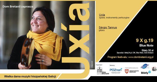 UXÍA - koncert wielkiej damy muzyki hiszpańskiej Galicji