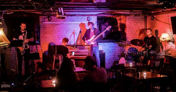 Live Jazz - Miętus/Maj/Stępień/Szkudlarek