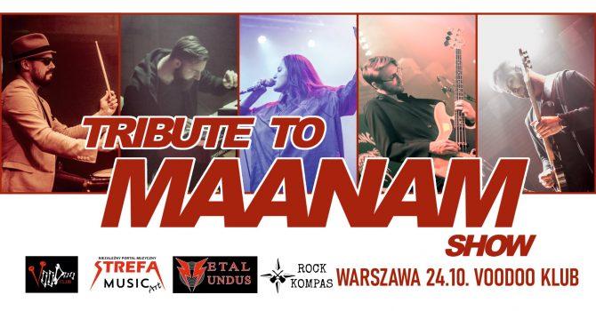 Tribute to Maanam w Warszawie || 24.10 || VooDoo Klub