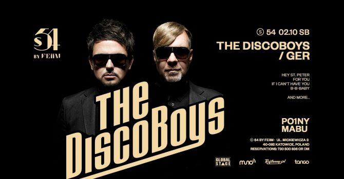 S.54 pres | THE DISCO BOYS · GER | Po1ny | Mabu | 02.10.2021 SB