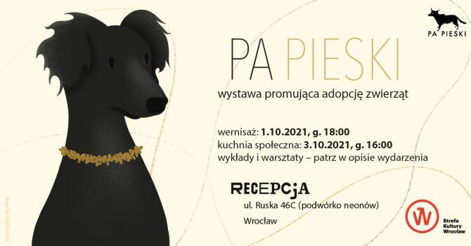 PA PIESKI 2 – wystawa promująca adopcję zwierząt