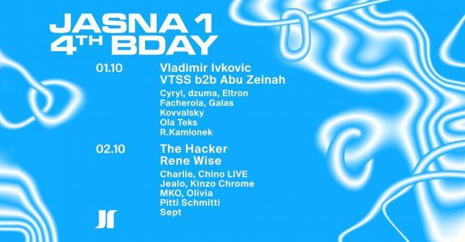 JASNA 4th BDAY — VTSS, Vladimir Ivkovic, The Hacker, Rene Wise
