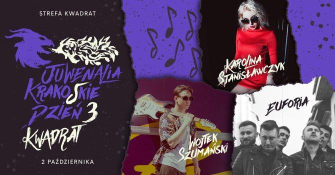Strefa Kwadrat Dzień 3: Karolina Stanisławczyk x Wojtek Szumański x Euforia