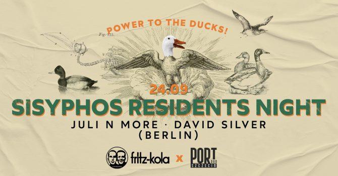 Sisyphos Residents Night: Juli N More / David Silver (Berlin) @PortBar