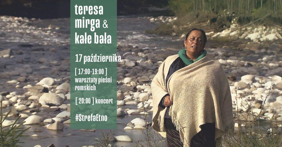StrefaEtno   Teresa Mirga   koncert i warsztaty