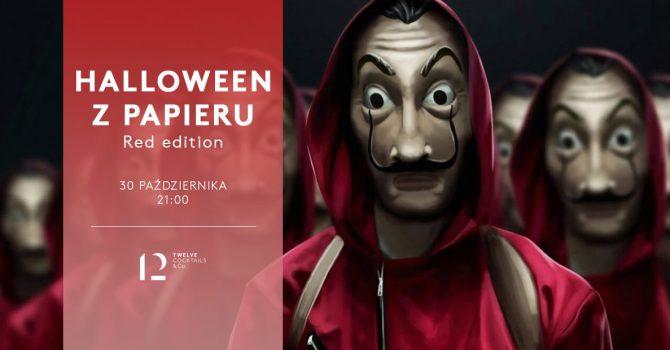 Halloween z papieru - Red Edition!!