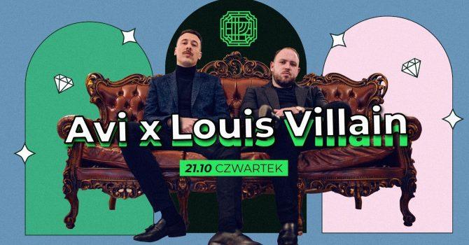 Avi x Louis Villain | Poznań | Ministerstwo Trap | Lista FB FREE
