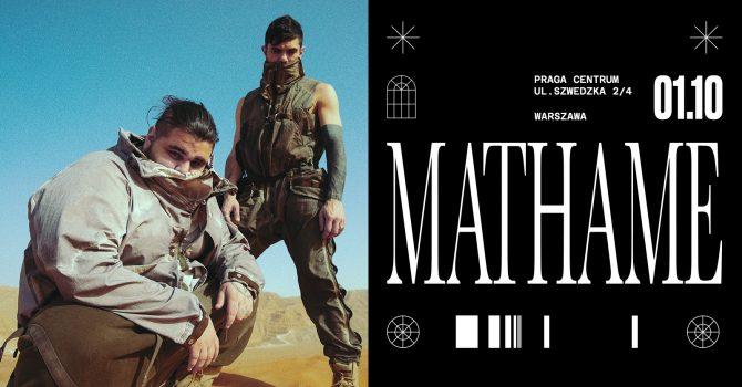 Mathame / 1 października / Praga Centrum
