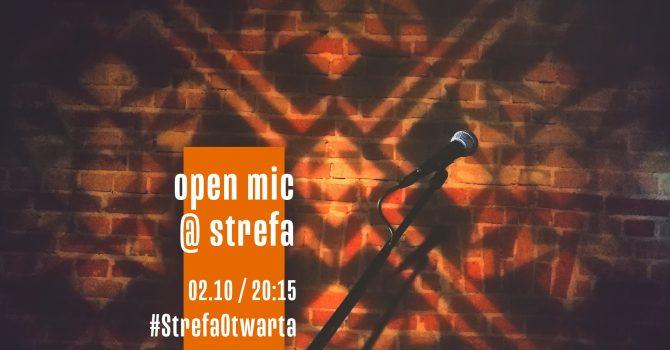 Strefa Otwarta | Open Mic at Strefa [wyjątkowo sobotni:) ]