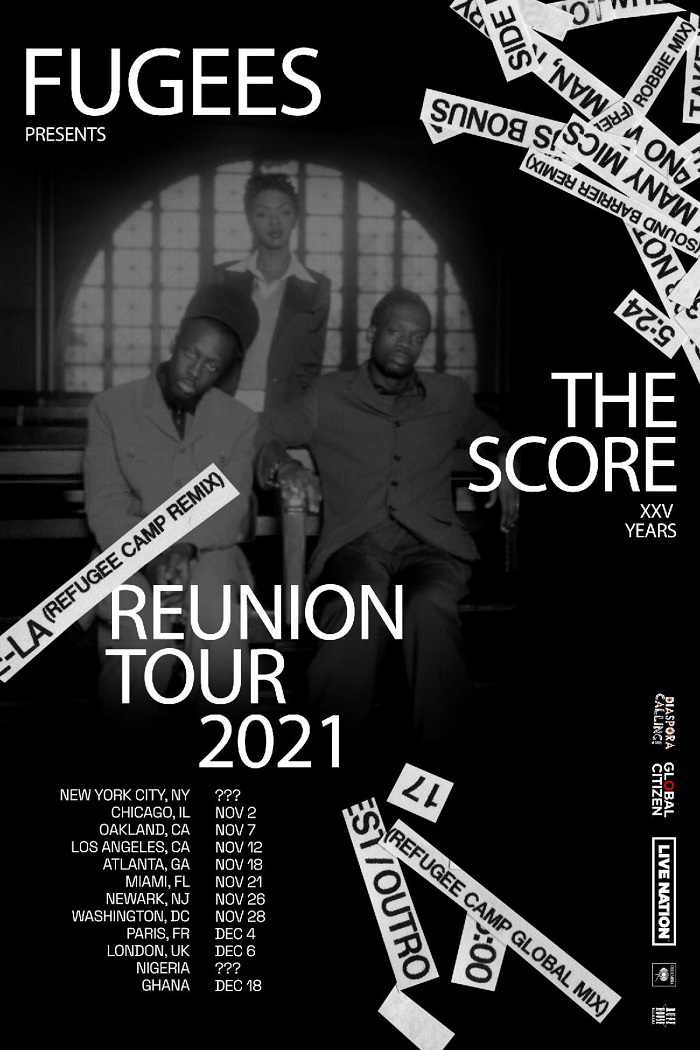 Fugees - The Score 25th Anniversary Tour