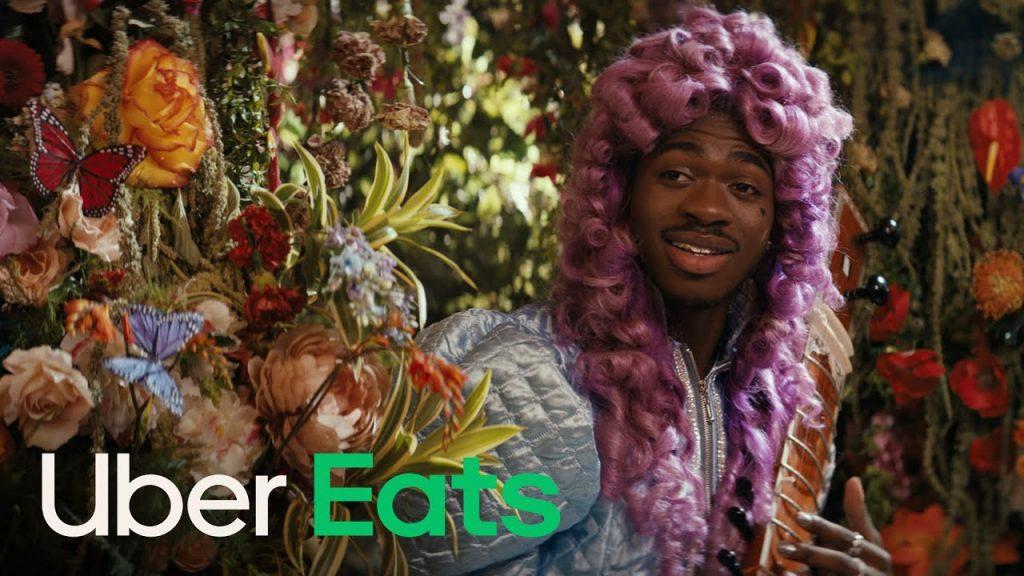 Lil Nas X Elton John Uber Eats reklama kampania