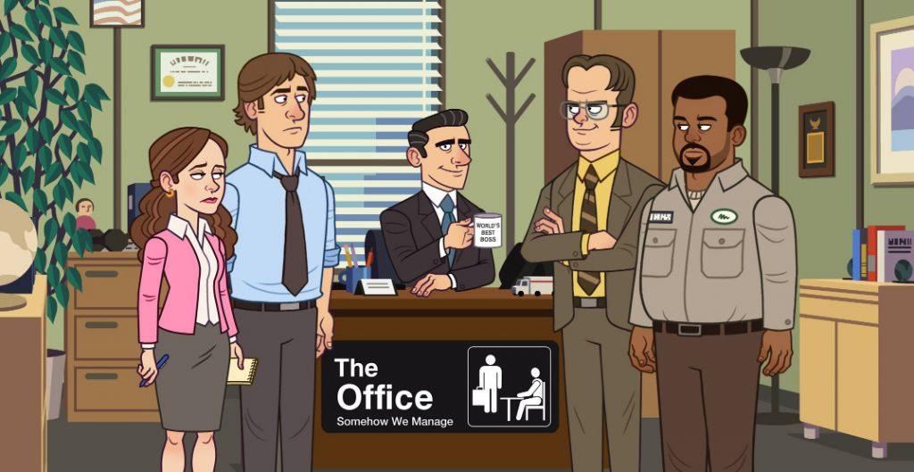 """""""The Office"""" jeszcze w tym roku ukaże się jako mobilna gra na telefon"""