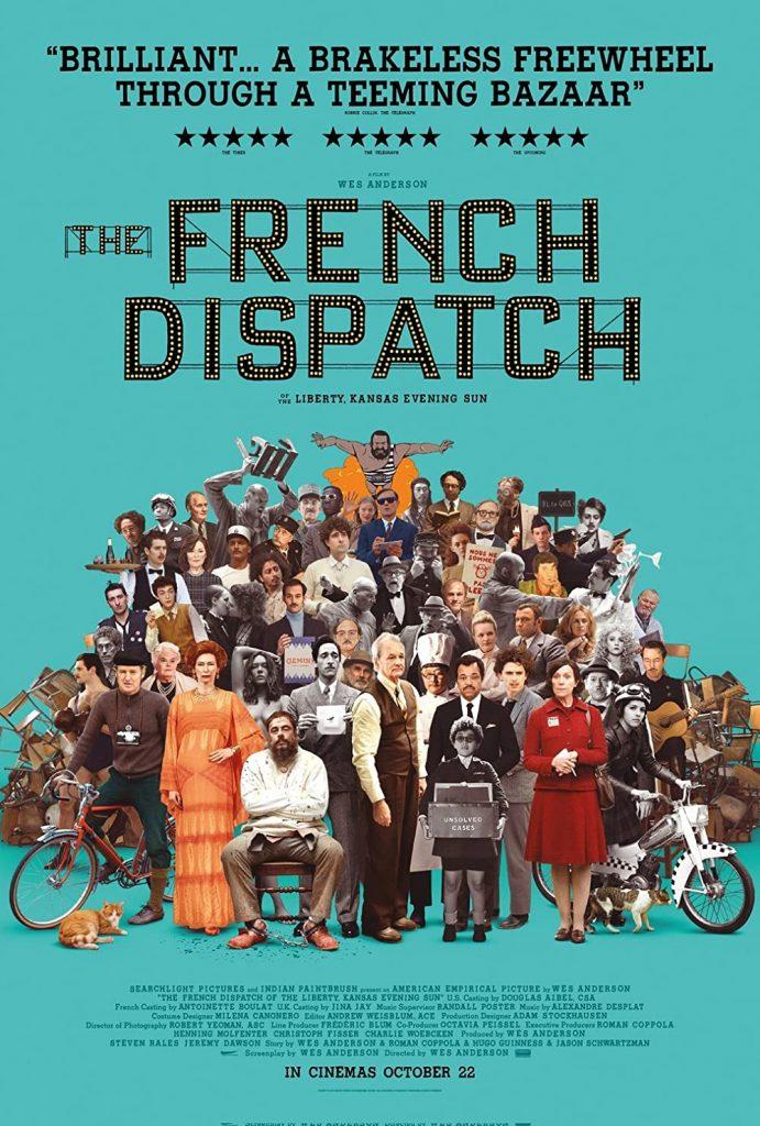 """""""The French Dispatch"""" - nowy zwiastun filmu Wesa Andersona"""
