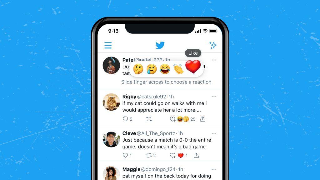Twitter jak Facebook? Trwają testy nad wprowadzeniem reakcji na tweety