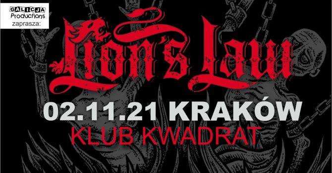 LION'S LAW | 2.11.2021 Kraków