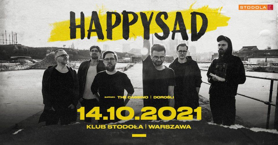 Happysad, 14.10.2021, Klub Stodoła / Warszawa
