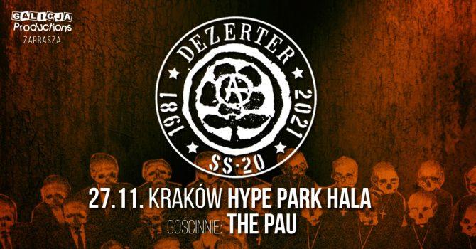 Dezerter / 40-lecie / Hype Park Hala / 27.11