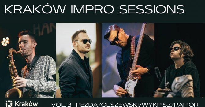 Kraków Impro Sessions vol.3 - Pezda/Olszewski/Wykpisz/Papior