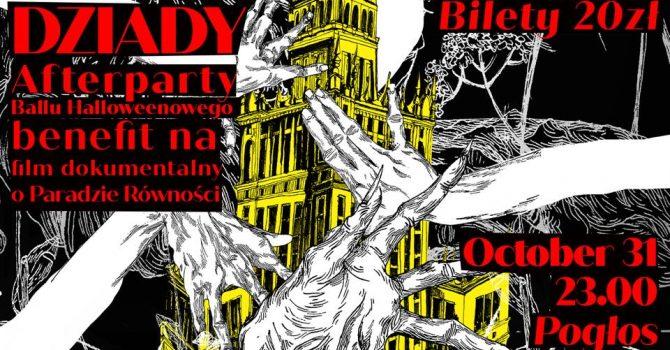 Afterparty Dziady Halloween Ball!