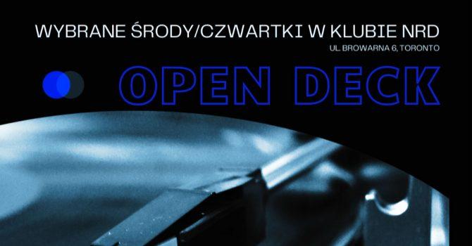 OPEN DECK / NRD Klub