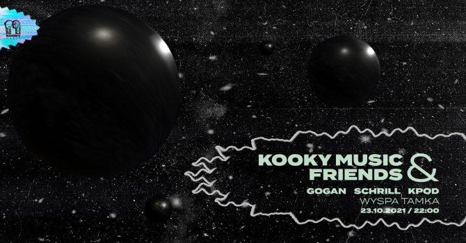 Kooky Music & Friends: K POD na Tamce