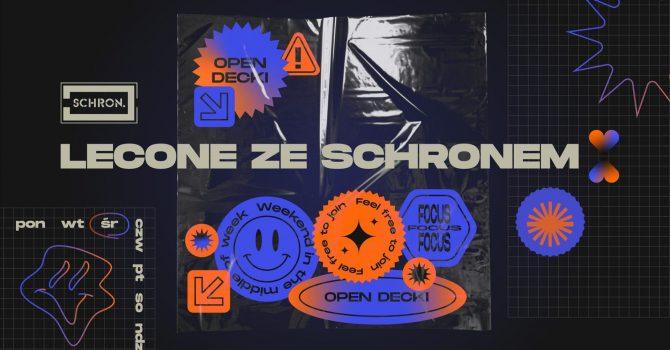 Lecone ze Schronem ~ open decki & gastroparty