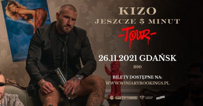"""KIZO """"Jeszcze 5 minut"""" Tour   Gdańsk"""