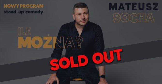 "Warszawa - COS Torwar: Mateusz Socha - ""Ile Można?"""