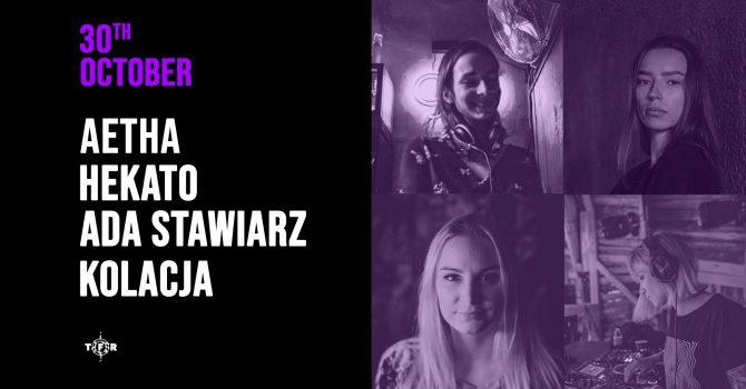 Aetha, Kolacja, Ada Stawiarz, Hekato | HALLOWEEN PARTY