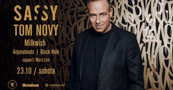Tom Novy & Milkwish | SASSY Club Night