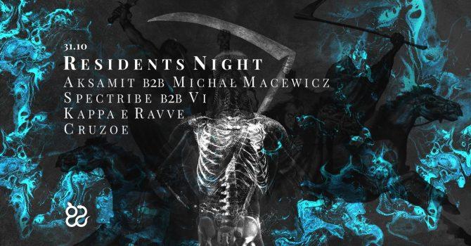 Ciało haloween: Residents Night