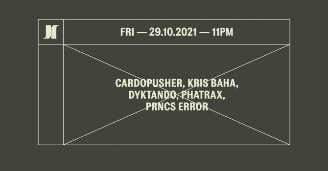 J1 | Cardopusher, Kris Baha, Dyktando / Phatrax, Prncs Error