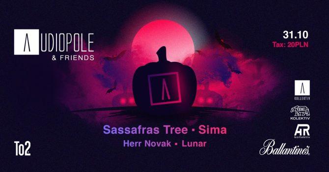 AUDIOPOLE & friends / Sassafras Tree, Sima, Herr Novak, Lunar