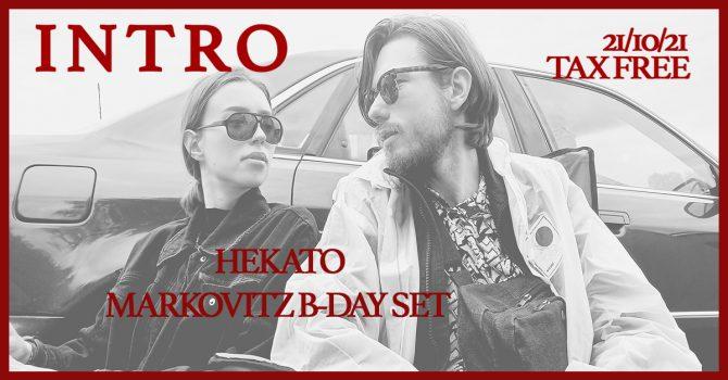 INTRO #Sweet 18 Markovitz & Hekato   Transformator
