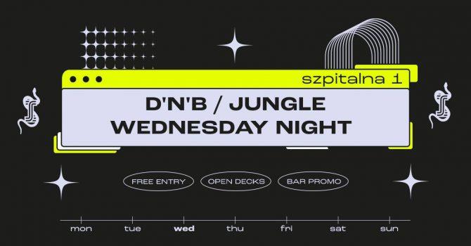D'n'B / Jungle Wednesday Night