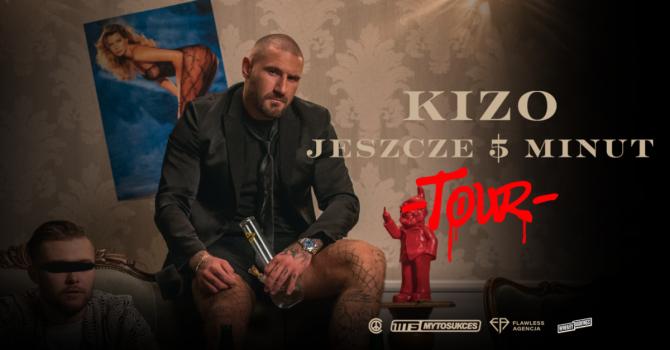 """Kizo rusza w """"Jeszcze pięć minut Tour"""". Raper odwiedzi 10 polskich miast"""
